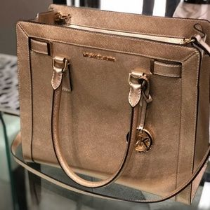 Michael Kors gold purse
